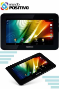 "Classificados Grátis - Tablet Positivo 7"" T705, Wi-Fi, Android 4.4"
